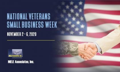 MELE Associates, Inc. Celebrates National Veterans Small Business Week