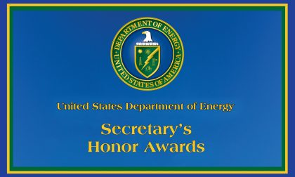 U.S. DOE Secretary's Honors Awards