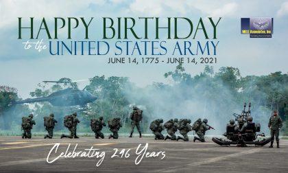 Happy Birthday, U.S. Army