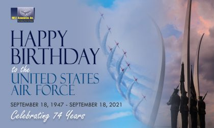 Air Force Birthday – September 18, 2021