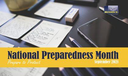 National Preparedness Month – September 2021