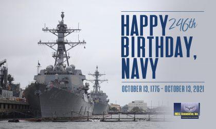 U.S. Navy Birthday – October 2021
